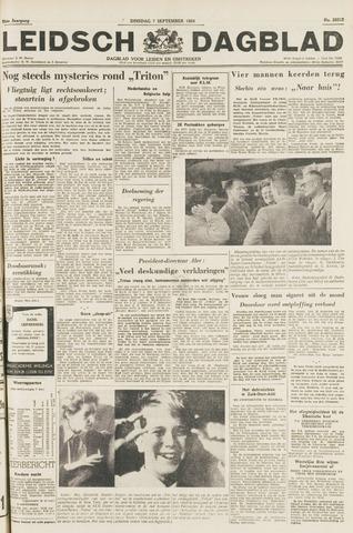 Leidsch Dagblad 1954-09-07