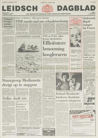 Leidsch Dagblad 1985-02-15