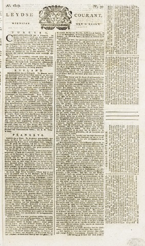 Leydse Courant 1819-03-10