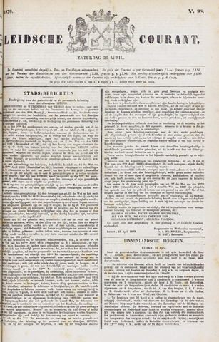 Leydse Courant 1879-04-26