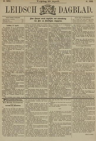 Leidsch Dagblad 1890-04-18