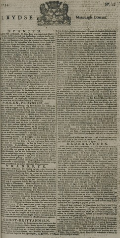 Leydse Courant 1734-03-01