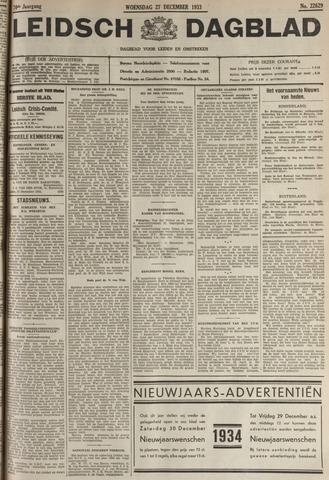 Leidsch Dagblad 1933-12-27