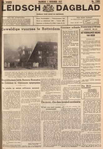 Leidsch Dagblad 1937-11-01