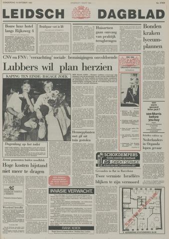 Leidsch Dagblad 1985-10-10