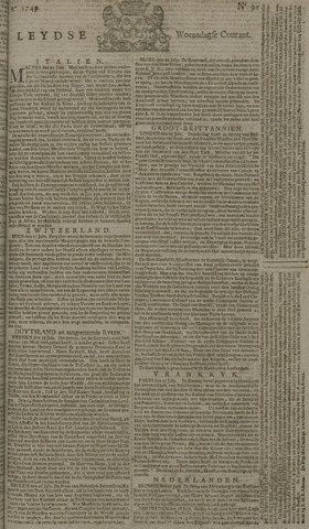Leydse Courant 1749-07-30