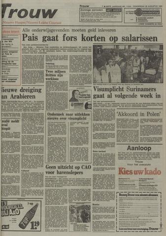 Nieuwe Leidsche Courant 1980-08-28