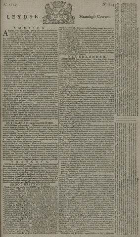 Leydse Courant 1749-09-22