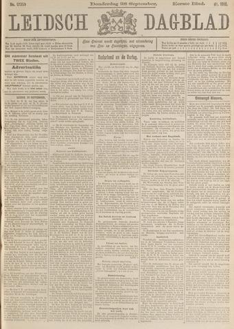 Leidsch Dagblad 1916-09-28