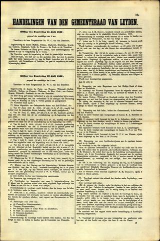 Handelingen van de Raad 1869-07-15