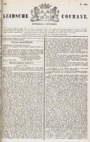Leydse Courant 1877-11-01