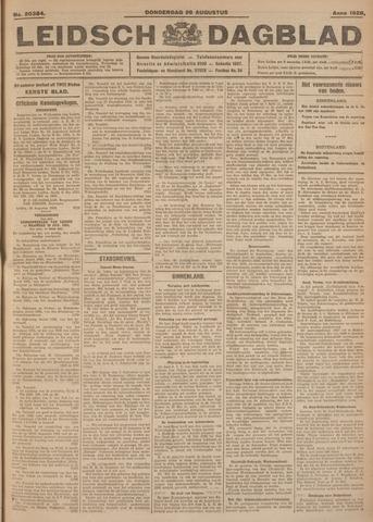 Leidsch Dagblad 1926-08-26