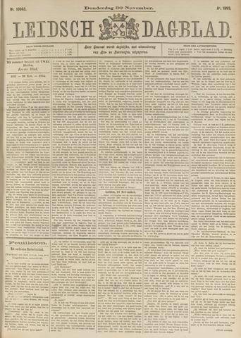 Leidsch Dagblad 1893-11-30