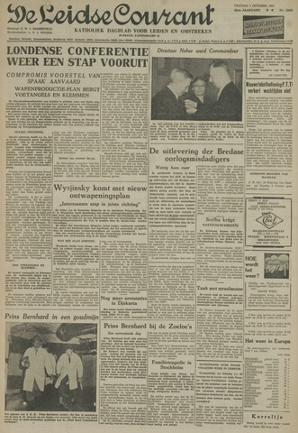 Leidse Courant 1954-10-01
