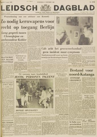 Leidsch Dagblad 1962-10-17