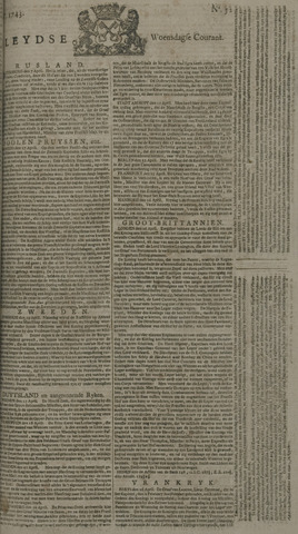 Leydse Courant 1743-05-01