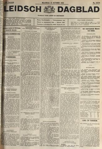 Leidsch Dagblad 1932-10-31