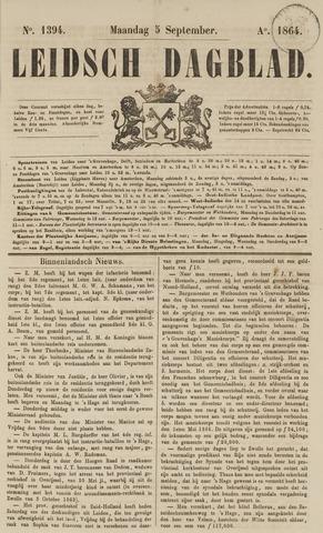 Leidsch Dagblad 1864-09-05