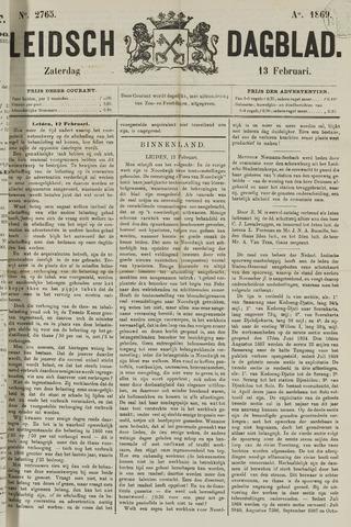 Leidsch Dagblad 1869-02-13