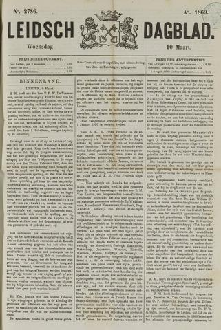 Leidsch Dagblad 1869-03-10