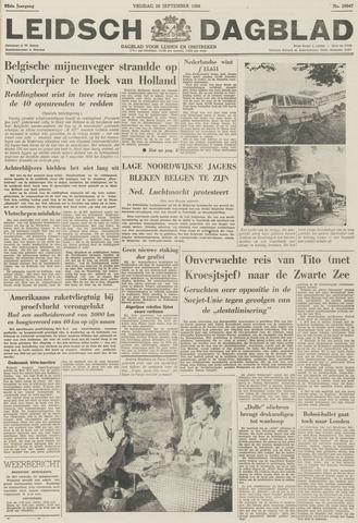 Leidsch Dagblad 1956-09-28