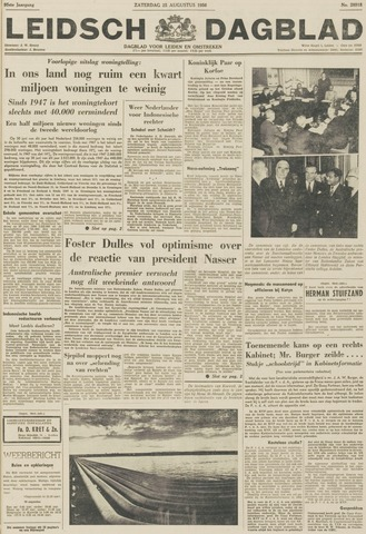 Leidsch Dagblad 1956-08-25