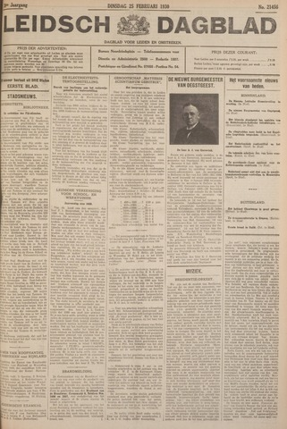 Leidsch Dagblad 1930-02-25
