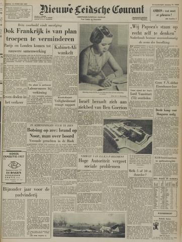Nieuwe Leidsche Courant 1957-02-15