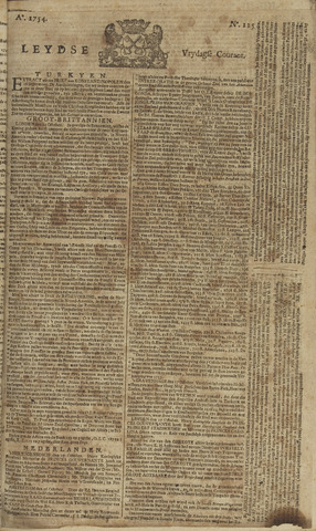 Leydse Courant 1754-10-18