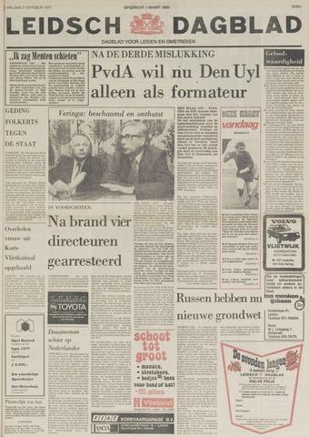Leidsch Dagblad 1977-10-07
