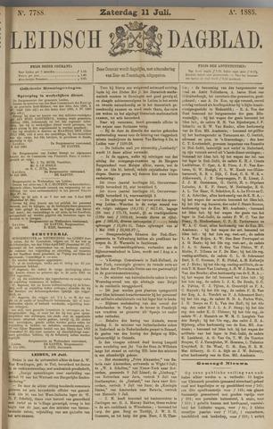 Leidsch Dagblad 1885-07-11