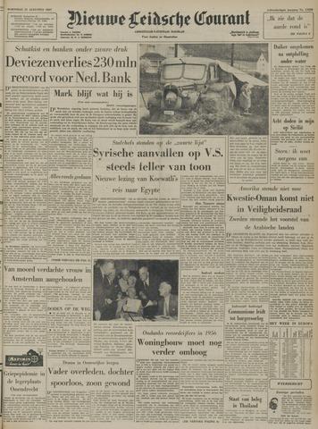 Nieuwe Leidsche Courant 1957-08-21