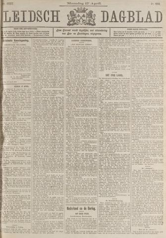Leidsch Dagblad 1916-04-17