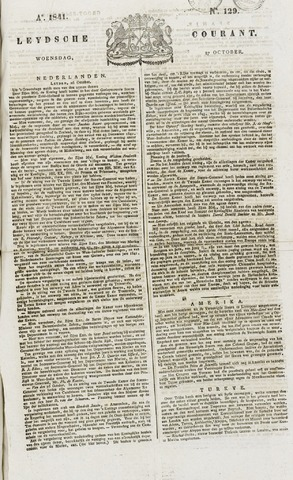 Leydse Courant 1841-10-27