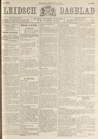 Leidsch Dagblad 1915-02-23