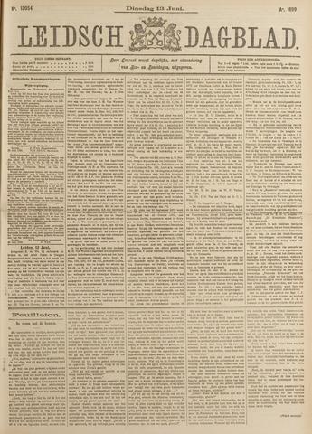 Leidsch Dagblad 1899-06-13