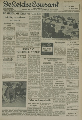 Leidse Courant 1962-10-19