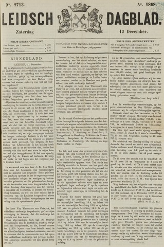 Leidsch Dagblad 1868-12-12
