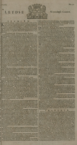 Leydse Courant 1725-10-31