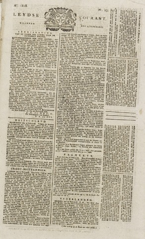 Leydse Courant 1818-02-23