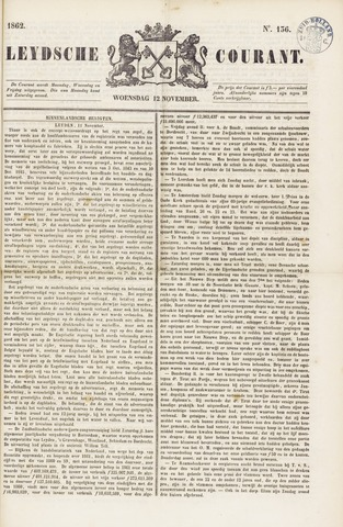 Leydse Courant 1862-11-12