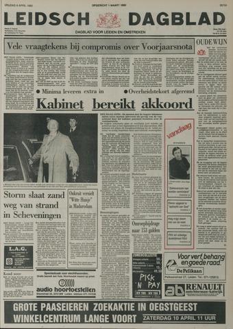 Leidsch Dagblad 1982-04-09