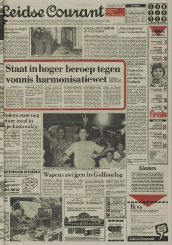 Leidse Courant 1988-08-20