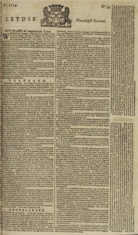 Leydse Courant 1754-08-19