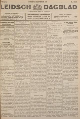 Leidsch Dagblad 1930-09-13