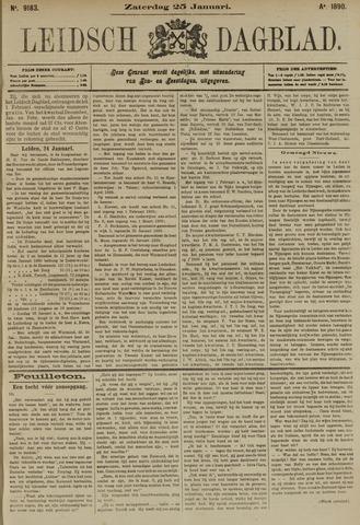 Leidsch Dagblad 1890-01-25