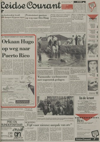 Leidse Courant 1989-09-18