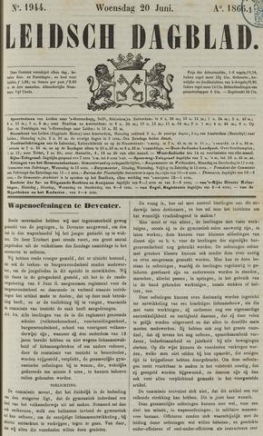 Leidsch Dagblad 1866-06-20