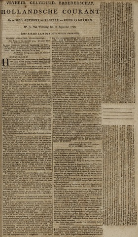 Leydse Courant 1795-09-16