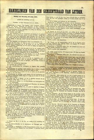 Handelingen van de Raad 1867-07-29